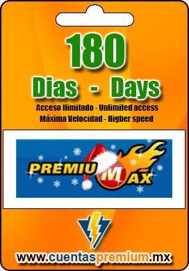 Cuenta Premium de PREMIUMAX de 180 Dias