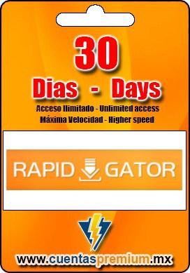 Cuenta Premium de Rapidgator de 30 Dias