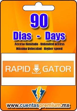 Cuenta Premium de Rapidgator de 90 Dias