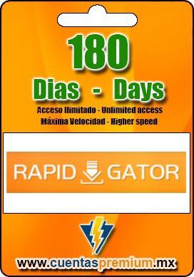 Cuenta Premium de Rapidgator de 180 Dias