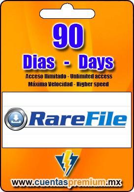 Cuenta Premium de RareFile de 90 Dias