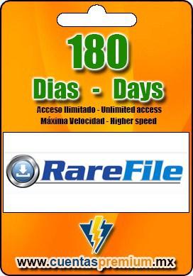 Cuenta Premium de RareFile de 180 Dias