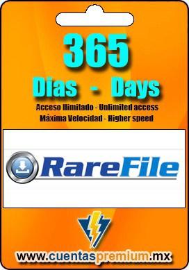 Cuenta Premium de RareFile de 365 Dias