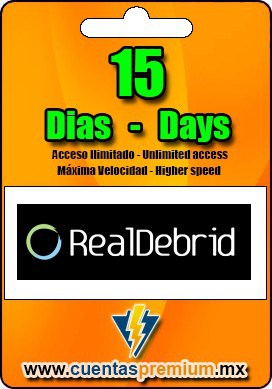 Cuenta Premium de RealDebrid de 15 Dias