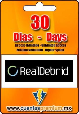Cuenta Premium de RealDebrid de 30 Dias