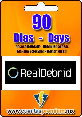 Cuenta Premium de RealDebrid de 90 Dias