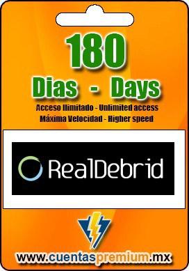 Cuenta Premium de RealDebrid de 180 Dias