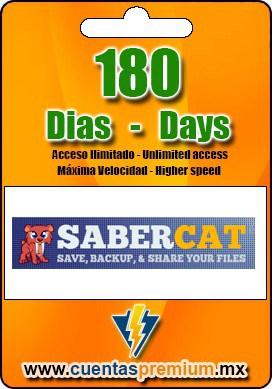 Cuenta Premium de SaberCatHost de 180 Dias