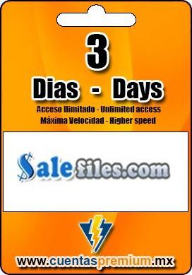 Cuenta Premium de Salefiles de 3 Dias