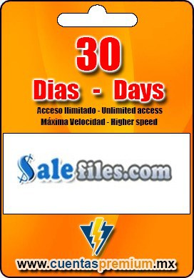 Cuenta Premium de Salefiles de 30 Dias