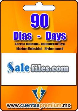 Cuenta Premium de Salefiles de 90 Dias