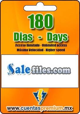 Cuenta Premium de Salefiles de 180 Dias