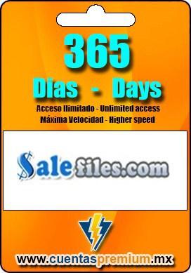 Cuenta Premium de Salefiles de 365 Dias