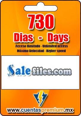 Cuenta Premium de Salefiles de 730 Dias