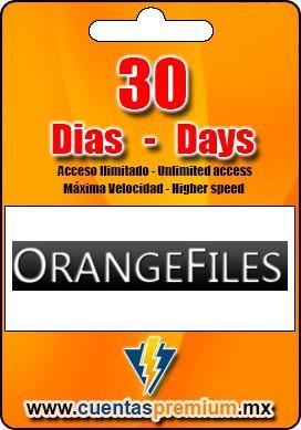 Cuenta Premium de ORANGEFILES de 30 Dias