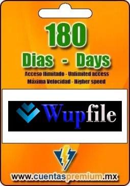 Cuenta Premium De Wupfile De 180 Días