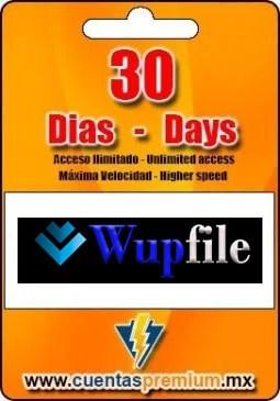 Cuenta Premium De Wupfile De 30 Días