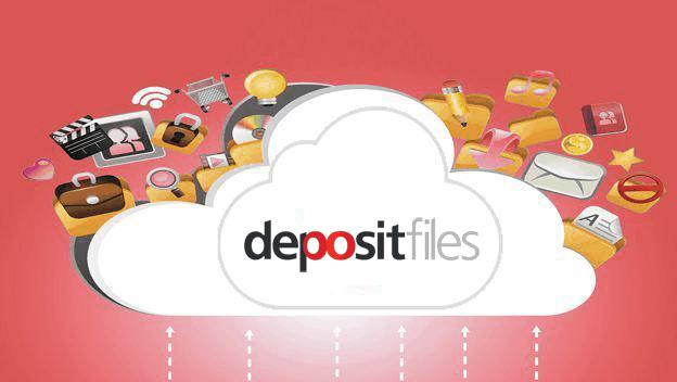 Nube de DepositFiles